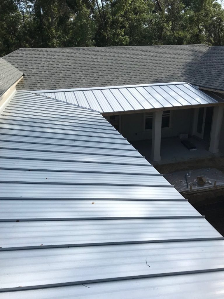 New Roof on New Construction Metal and Shingle by 1 Roof LLC